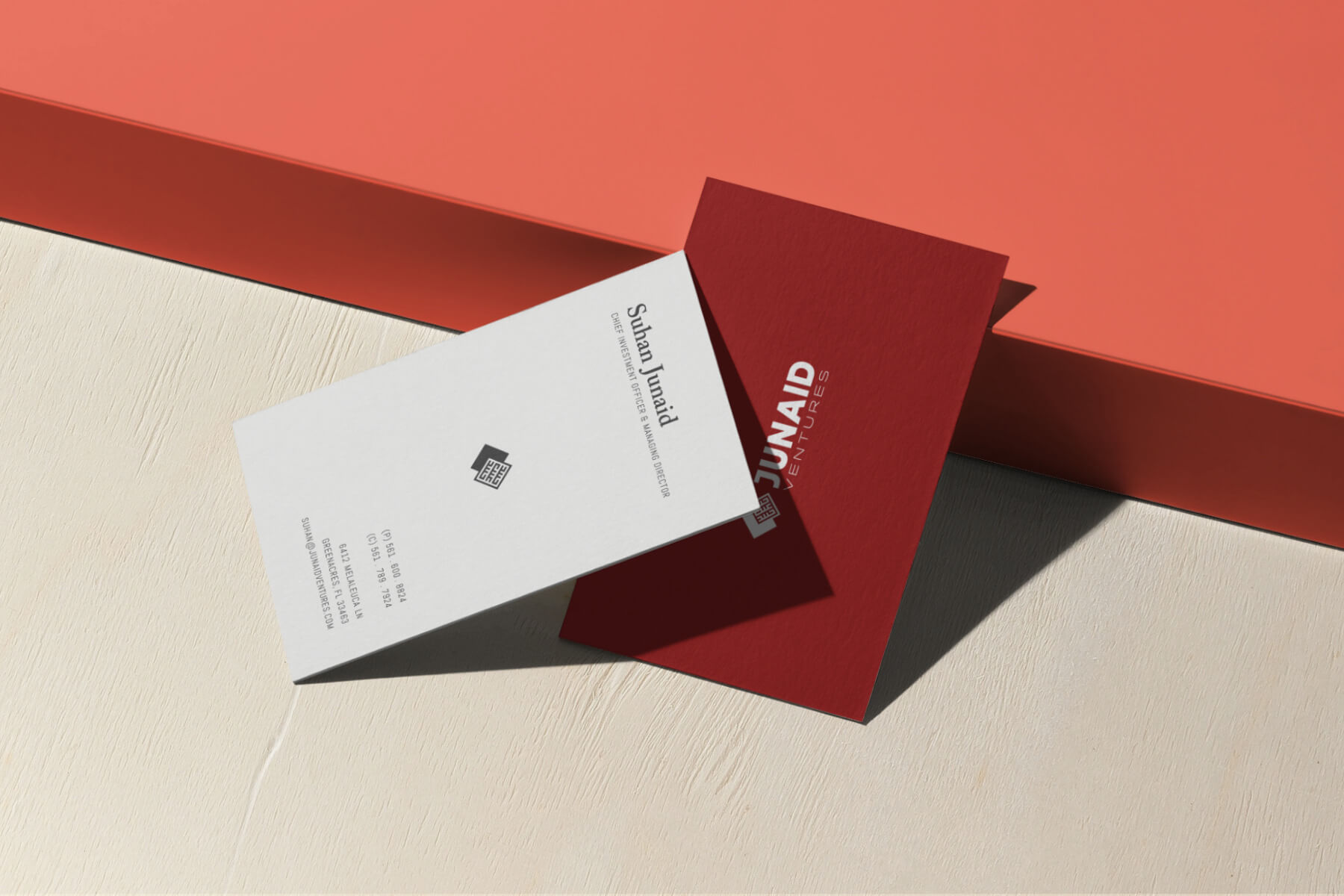 Junaid Ventures – Business Card