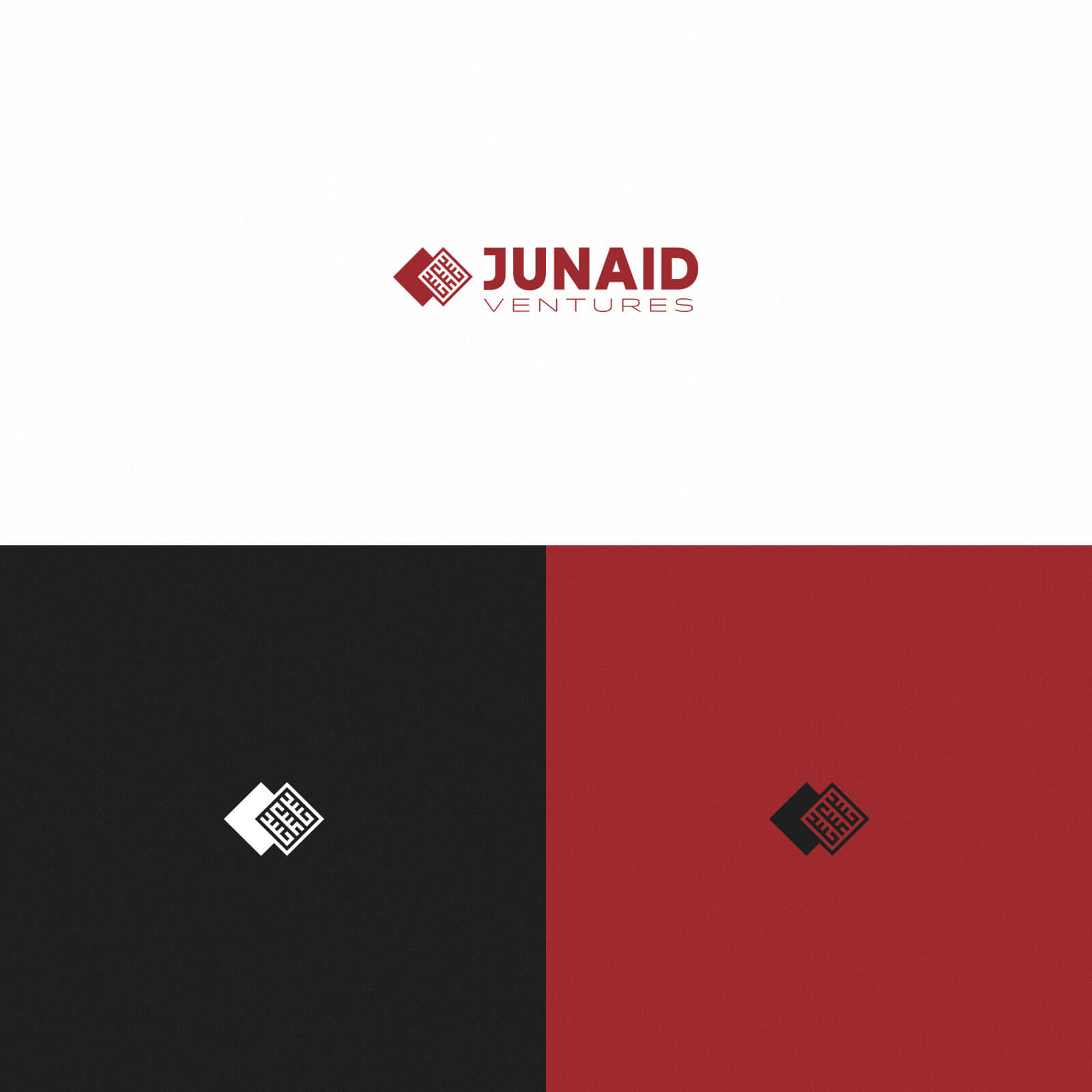 Junaid Ventures – Logo, Various Colors